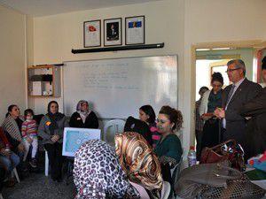 Seydişehirde aile eğitim kursu açıldı