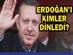 Erdoğanı kimler dinliyor?