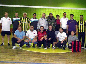 Öğretmenler arası voleybol turnuvası yapıldı
