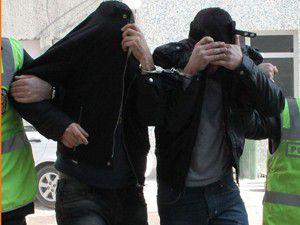 2 şüpheli çıkarıldıkları mahkemede tutuklandı
