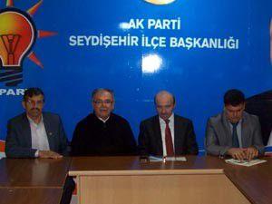 AK Parti Konya Milletvekili Tüfekçi, Seydişehirde