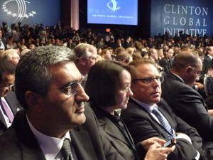 Başkan Konuk, devlet başkanlarıyla birarada