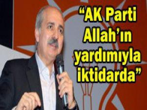 """AK Parti bunu yapacak güçte"""