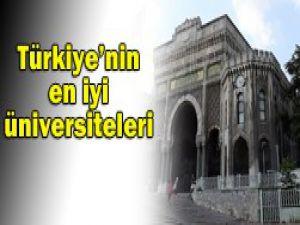 10 Türk üniversitesi ilk 500de