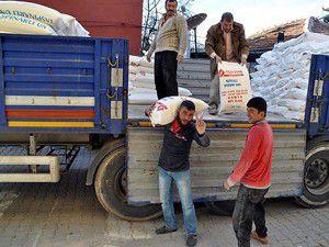 Suriyeye yardım için ekmek fırını yapılacak