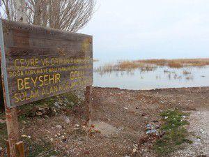 Temizlik çalışmaları gölün önünü açtı