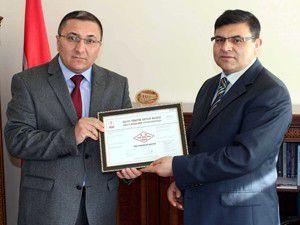 Beyşehir Tapu Müdürlüğü kalitesini belgeledi