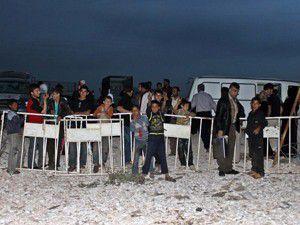68 kişi, Türkiyeye sığındı