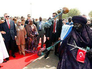 Başbakan Erdoğan Nijerde
