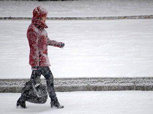 Buz üzerinde yürürken kendinizi kasmayın