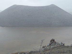 Meke Gölünde su seviyesi arttı