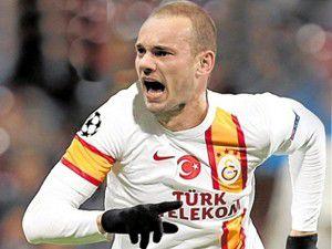 Sneijder Galatasarayda