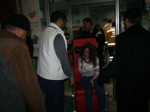 Konyada yolcu otobüsü devrildi: 6 yaralı