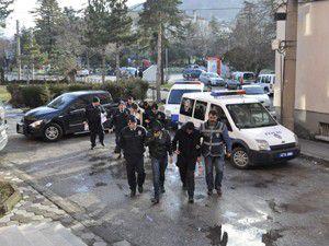 Akşehirde sigara hırsızlarına suçüstü