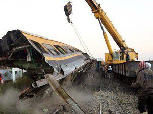 Mısırda askeri tren faciası