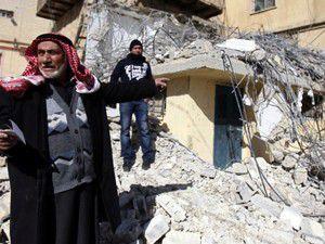 İsrail askerleri Kudüste 2 ev yıktı