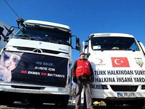 Yardım malzemeleri Lübnandaki kamplara ulaştı