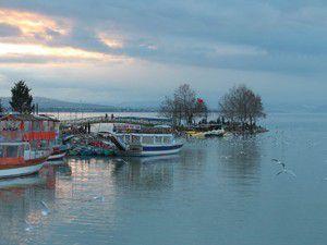 Beyşehir Gölünde su seviyesi yükseldi