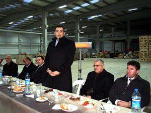 Mustafa Akış, müteşebbislerle bir araya geldi