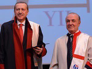 Erdoğana fahri doktora unvanı