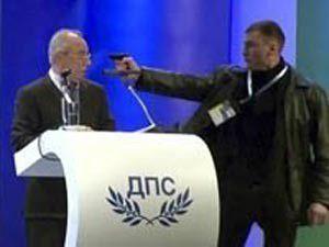 Bulgaristanda Türk lidere suikast girişimi