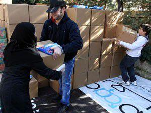 Suriyeli sığınmacılar için 30 bin dolar topladı