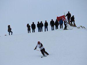 Aladağda kayak şöleni