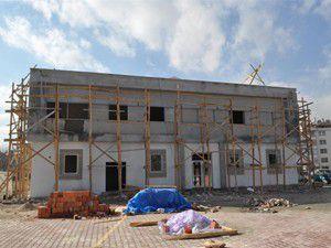 Sosyal tesislerin yapımında sona gelindi