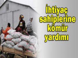 Yoksul ailelere 500 kg kömür