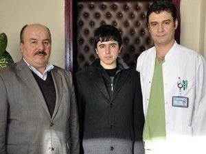 Muhammed doktorların çabasıyla hayata bağlandı