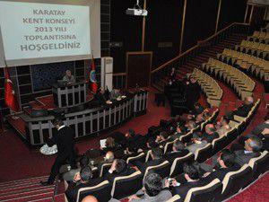 Karatay Kent Konseyinde yılın ilk toplantısı