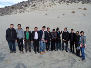 Afgan heyeti Karapınarı gezdi