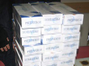 Konyada 3 bin paket kaçak sigara ele geçirildi