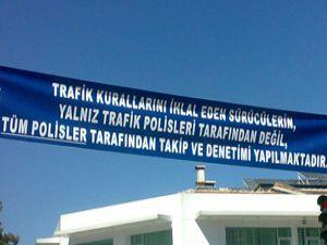 Konyada her polis bir trafik memuru