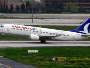 Anadolu Jet Konyaya uçuyor
