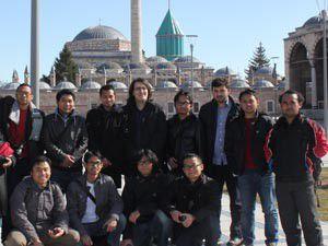 Endonezyalı öğrenciler Konyada buluştu