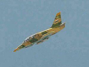 Muhalifler savaş uçağı düşürdü