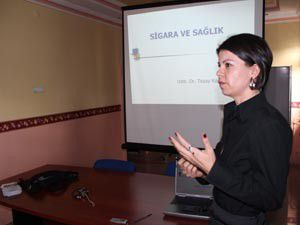 Beyşehirde sigara ve sağlık konulu seminer