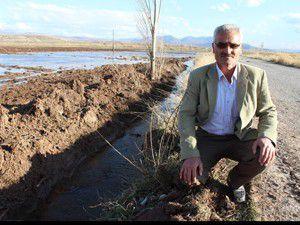 Tahliye kanalları çiftçiyi rahatlattı