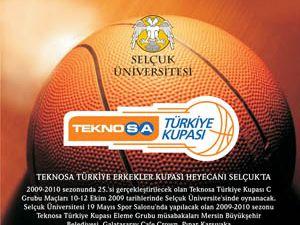 Teknosa Türkiye erkekler kupası heyecanı Selçuk ta