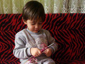 Bir tır örgü kıyafet Suriyeye gönderildi