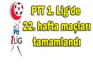 PTT 1. Ligde 22. hafta görünümü