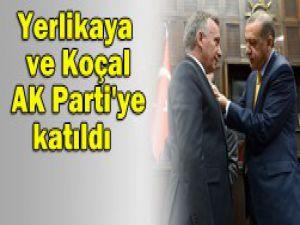 AK Partiye iki transfer