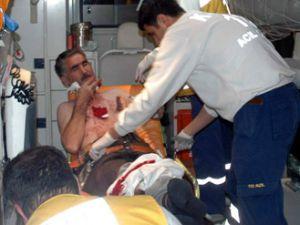 Konyada bıçaklı kavga; 3 yaralı