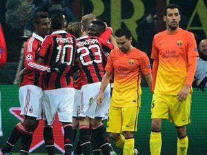 Barcelonaya Milan şoku: 2-0