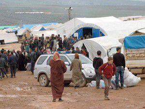 Kamp dışındaki Suriyelilere de düzenli yardım