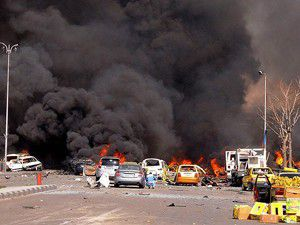 İntihar saldırısında çok sayıda kişi öldü