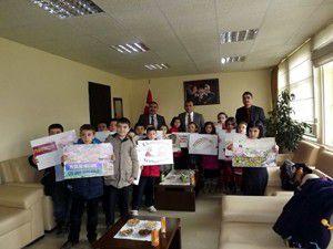 Öğrencilerden Ekmek İsrafı kampanyasına destek