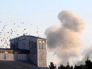 ÖSO Hizbullah bölgesini bombalıyor