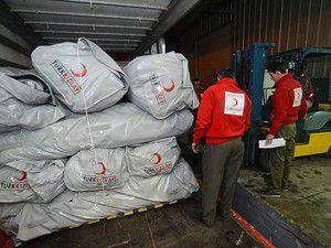 Yardımlar Türk Kızılayı ile Suriyeye ulaşacak